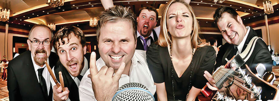 Griffin and the Gargoyles, pictured, is a premier high-energy, party-and-dance band that plays classics from every generation. The band kicks off the first Parties in the Park of this year's season Wednesday in Clayton, Missouri. Photo: Image Courtesy Of MSW Marketing | For The Telegraph