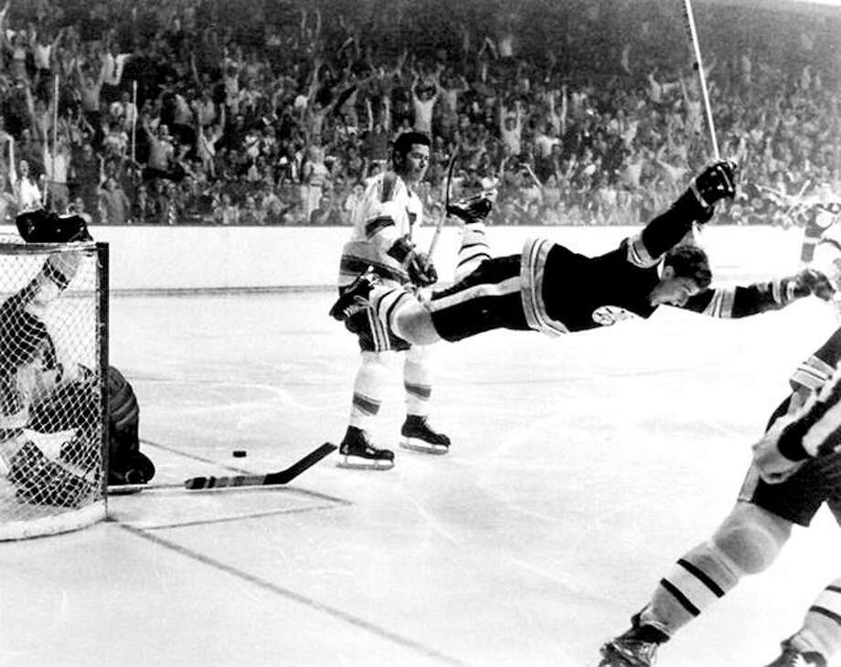The last time the Blues were in the Stanley Cup finals, Boston's Bobby Orr scored the game-winning goal in a title-clinching Game 4 win. The Blues advanced to the finals the first three years in the league, but never won a finals game and haven't been back since. Photo: File Photo