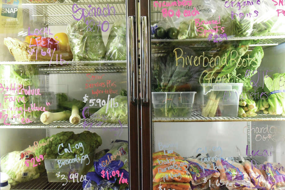 Grassroots Grocery sells only the freshest organic, locally-grown produce. Photo: Kevin Korinek | For The Telegraph