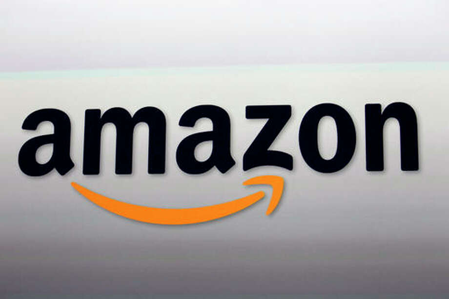 This Sept. 6, 2012 file photo shows the Amazon logo in Santa Monica, California. (AP Photo/Reed Saxon, File)