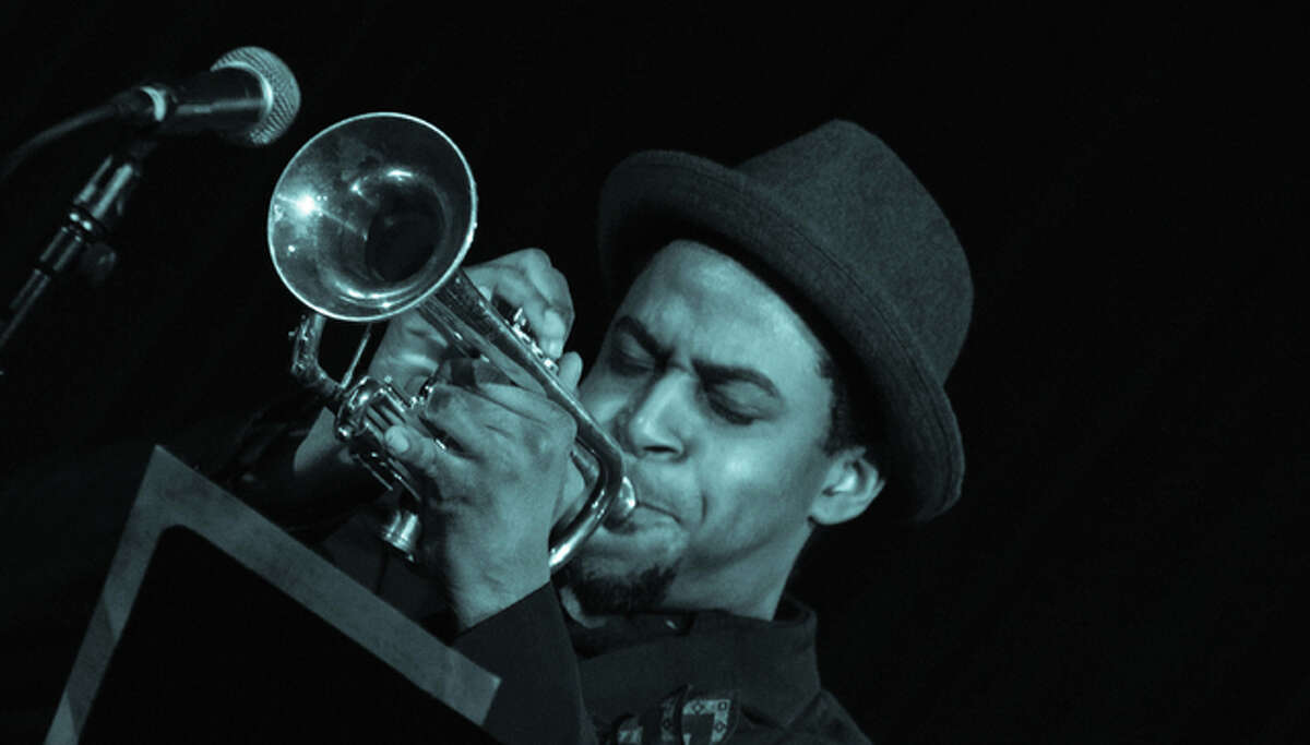 Kasimu Taylor (pictured), of the Quartet, returns to Alton since being the featured trumpeter at last year's Miles Davis statue unveiling ceremony. The Quartet, also featuring Eric Slaughter on guitar, Bob DeBoo on bass and Kevin Cheli on drums, play from 6 to 9 p.m. Friday, May 27, during the Miles Davis Birthday Celebration, which is three consecutive nights of live jazz from Thursday, May 26, through Saturday, May 28, at Bossanova Martini Lounge and Restaurant.