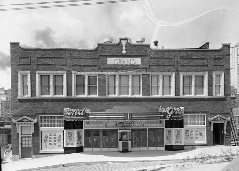 A presentation Saturday focused on the historical and architectural significance of Alton's classic Grand movie theater, which opened to spectacular fanfare in 1920.