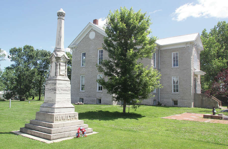A memorial to Dr. Silas Hamilton, who left money for the creation of the Hamilton Primary School in Otterville in his will, was erected by former slave George Washington, who had been educated at the school, which was touted as the first free and integrated school in the nation and is listed on the National Register of Historic Place. This weekend is the Hamilton Primary School Festival, a fundraiser for the Otter Creek Historical Society, which maintains the school.