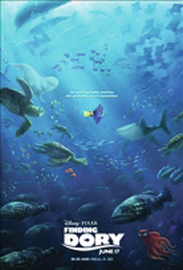 "This image released by Disney shows the character Dory, voiced by Ellen DeGeneres, in a scene from ""Finding Dory."" (Pixar/Disney via AP)"
