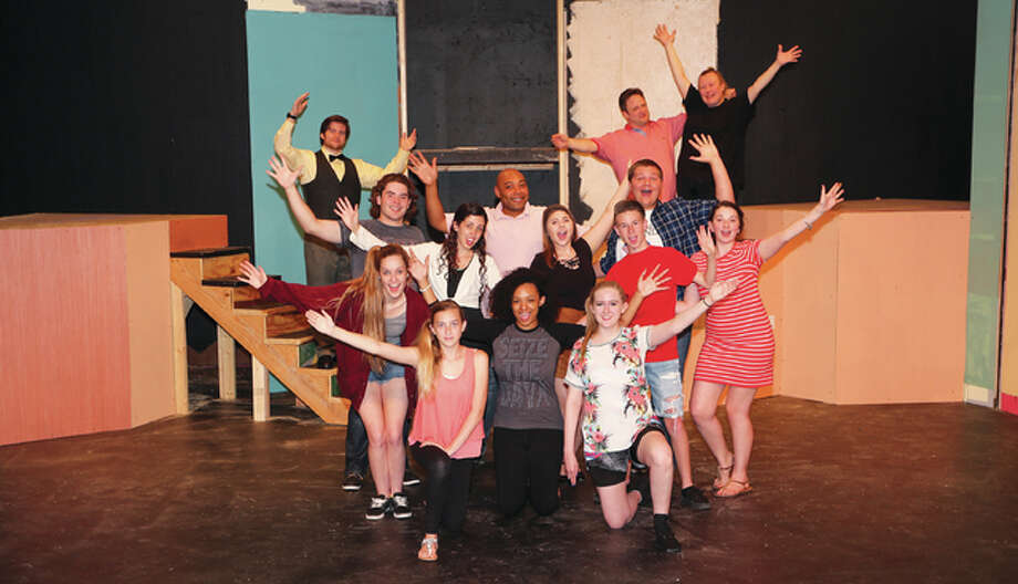 "Alton Little Theater announced the cast for its Summer Showcase Production of the Broadway musical ""Fame."" The cast pictured here includes participants from Staunton, Illinois, to St. Louis, Missouri, and among them are the ""drama"" students portrayed by Curtis Leible, Samantha Stinson and Sawyer Burton; ""dance"" students portrayed by Eeyan Richardson, Mary Grace Brueggerman, Jordan Harper and Audra Ray; ""music"" students portrayed by Cody Johnson, Emma Sugent and Will Johnson; ""teachers"" are played by Alton Little Theater performers Steven Harders, Nick Trapp, Robyn Couch and newcomer gospel singer, Cathy Smith-Lytle. Smith-Lytle's daughter, Kani, also makes her stage debut in the Showcase Production along with Brianna Busse, a featured dancer, and Lexi Collman, Hannah Coughtry-Trapp, Kara Poirot and Emily Weller in the ensemble. Photo: Pete Basola 