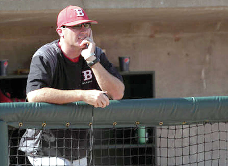 Former Bradley University associate coach Sean Lyons is the new head baseball coach at SIU Edwardsville. Photo: Bradley Braves Athletics