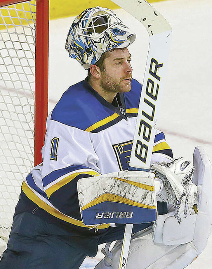 The Blues traded golaie Brian Elliott to Calgary Friday in exchange for the Flames' second-round pick in this year's draft and a conditional third-round selection in 2018.