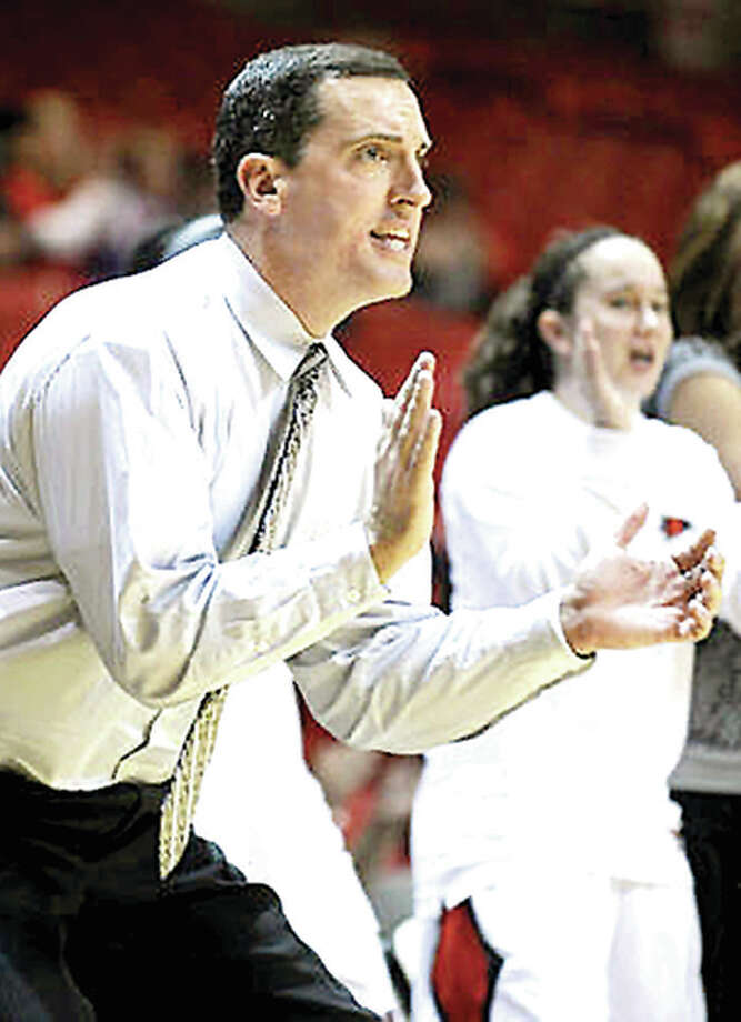 Former Roxana High boys basketball coach Ty Margenthaler has been named assistant women's coach at Saint Louis University. Margenthaler's 1997-98 Roxana team won the South Central Conference title, as well as a Class A regional championship and he was named the Telegraph's Small School Boys Basketball Coach of the Year. Photo: SEMO Athletics