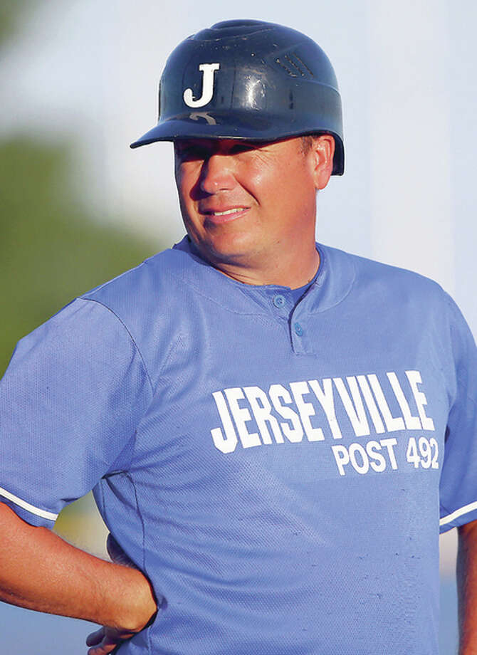 Jerseyville Post 492 manager Darren Perdun's team grabbed a 14-4 home win over Calhoun Thursday. Photo: Billy Hurst File Photo | For The Telegraph