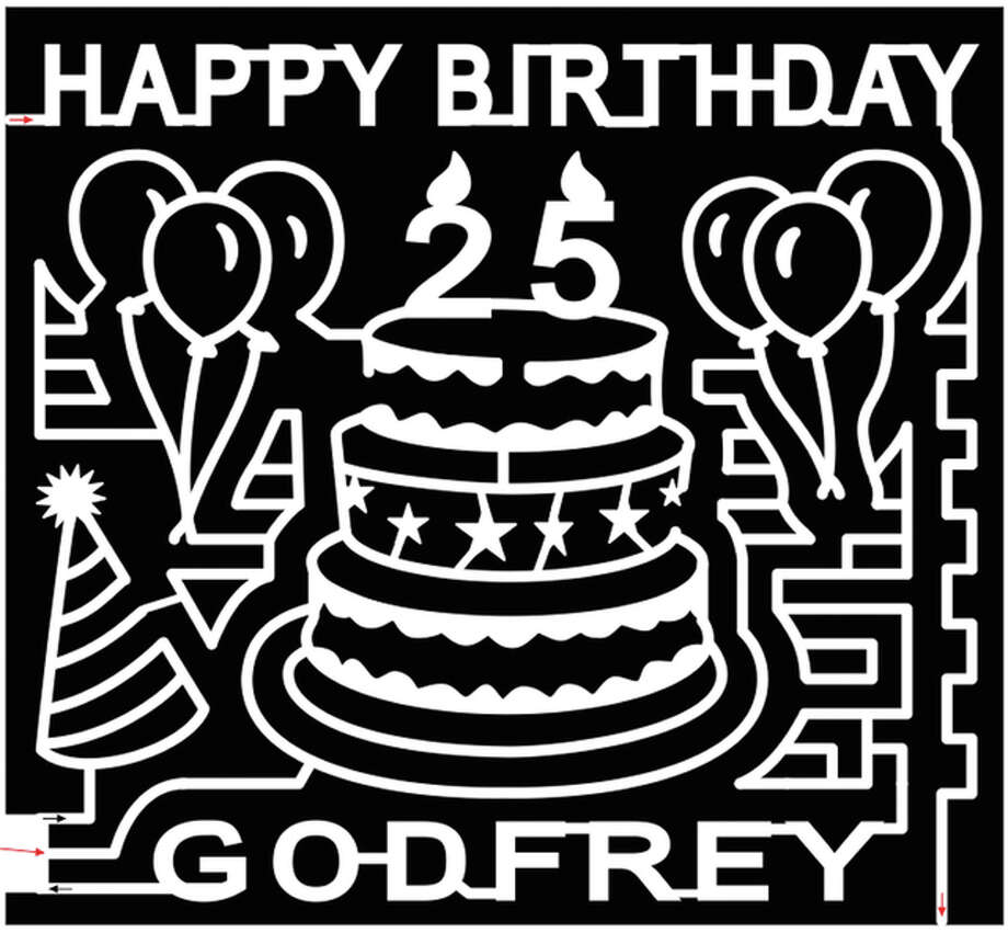 This year's Great Godfrey Maze will celebrate the village's 25th anniversary. The maze opens with a birthday party on Sept. 2. Photo: For The Telegraph