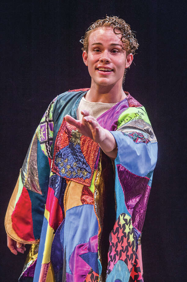 "Angel J. Lozada plays Joseph in ""Joseph and the Amazing Technicolor Dreamcoat"" at McLeod Summer Playhouse Friday, July 8, through Sunday, July 17, on the Southern Illinois University Carbondale campus."