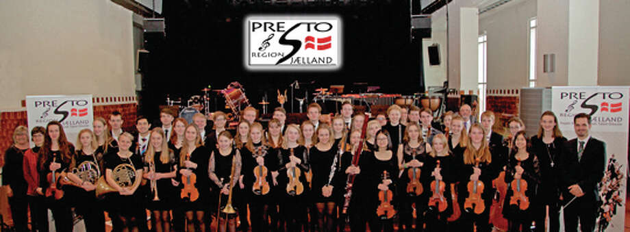 The Presto Orchestra of Koege, Denmark, hosted by the Alton Youth Symphony, will perform a free concert Sunday at the First Presbyterian Church, Alton.