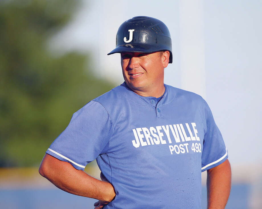 Jerseyville American Legion manager Darren Perdun's team will play host to the Illinois State Senior American Legion Tournament beginning next Wednesday at Ken Schell Field. It will run through Saturday, July 30, with the winner advancing to the Great Lakes Regional Aug. 3-7 at SIUE's Roy E. Lee Field. Photo: Billy Hurst File Photo | For The Telegraph