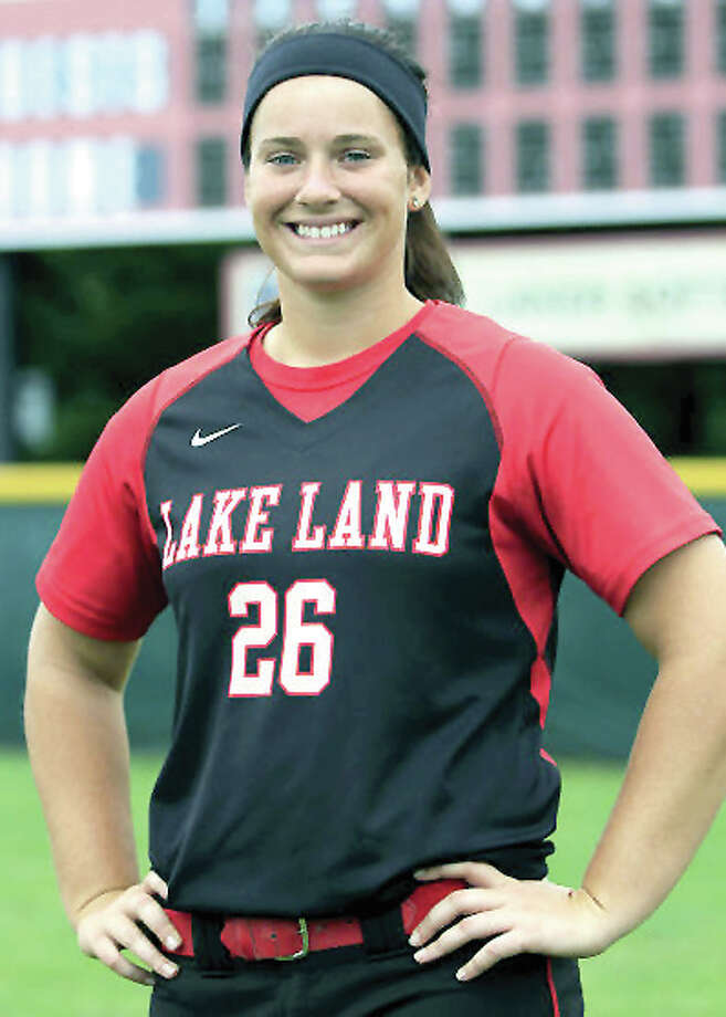 Sarah Lopesilvero will transfer from the University of Louisville to play softball at SIUE. She is a former Lake Land Community College All-American. Photo: Lake Land Comm. College
