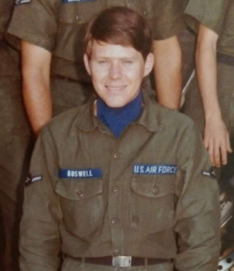 Rather than wait to be summoned for service in the U.S. Army, Alton native Jack Boswell chose to pursue his interest in working with electronics and visited a local Air Force recruiter. Scoring high on the aptitude tests related to electronics, Boswell decided to enlist in the Air Force in October 1971.
