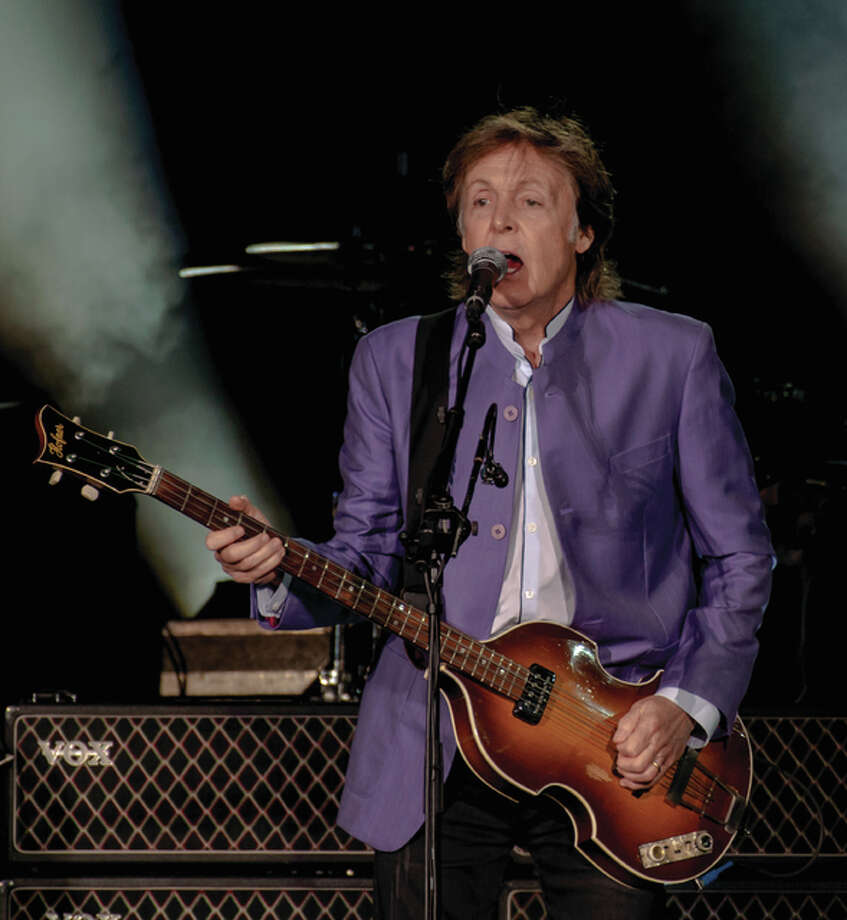Music icon Paul McCartney brought his One on One Tour to a sold-out Busch Stadium Saturday, Aug. 13, for a night that simultaneously filled the stadium with fond memories while creating new ones, as well. Photo: Photo Credit Sean Derrick Thyrd Eye Photography|For The Telegraph