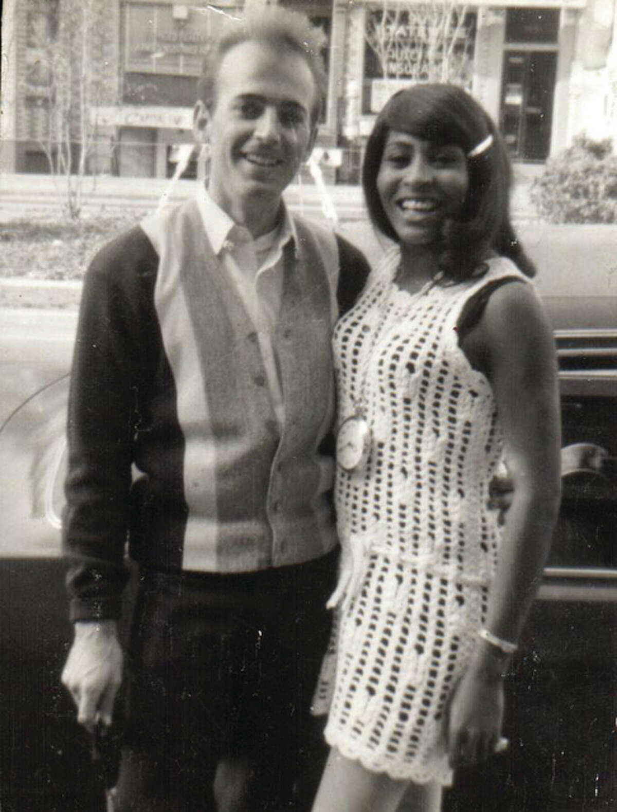 Circa 1965: South Roxana's Herb Sadler with Tina Turner in Washington D.C. The legendary session and Ike & Tina Turner Revue guitarist toured with the Turners for approximately 13 years, playing with many defining artists of the era. Sadler associated with Ike Turner through his death in 2007.