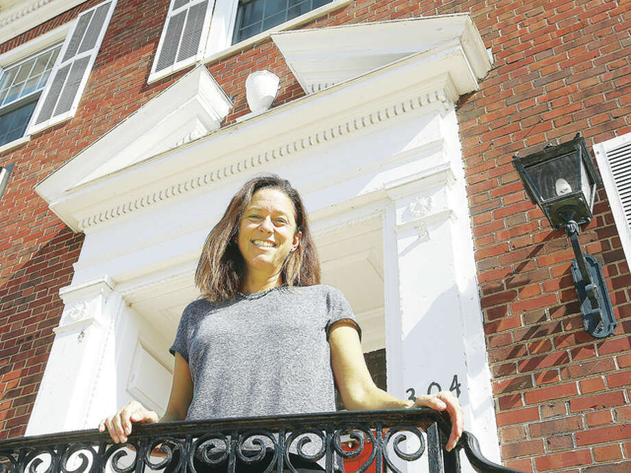 Marcy Bosoluke is the new director of the Alton YWCA on Third Street. Photo: John Badman | The Telegraph