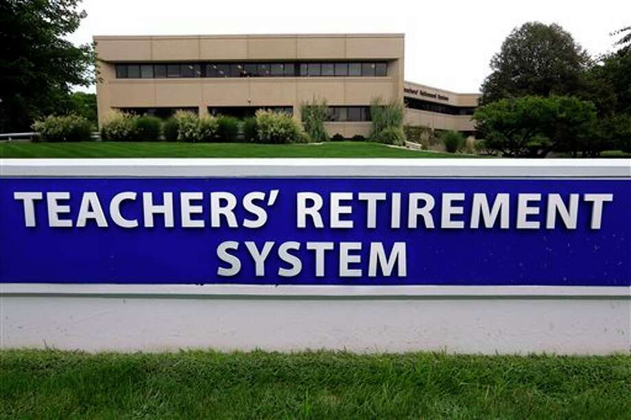 The board of the Illinois Teachers Retirement System, which serves more than 400,000 teachers outside of Chicago, is meeting to vote on whether to lower its expected rate of return on investments Friday in Springfield, Ill. Illinois Gov. Bruce Rauner's administration says the move would increase the state's required payment by hundreds of millions of dollars, potentially leading to higher taxes or massive cuts to education and social services already suffering amid a budget crisis.