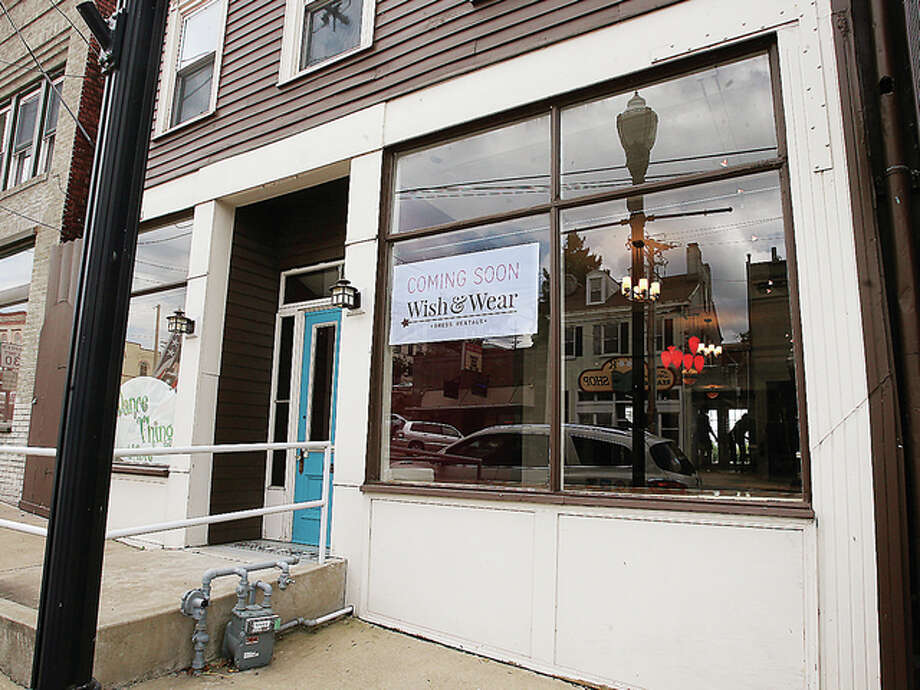 The new home of Wish & Wear dress rentals will be in the first block of East Broadway in Alton. Photo: John Badman|The Telegraph