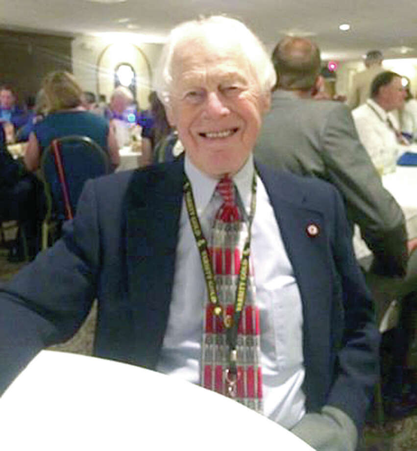 Longtime Granite City High School wrestling coach Willliam 'Red' Schmitt of Alton died Saturday at age 94.
