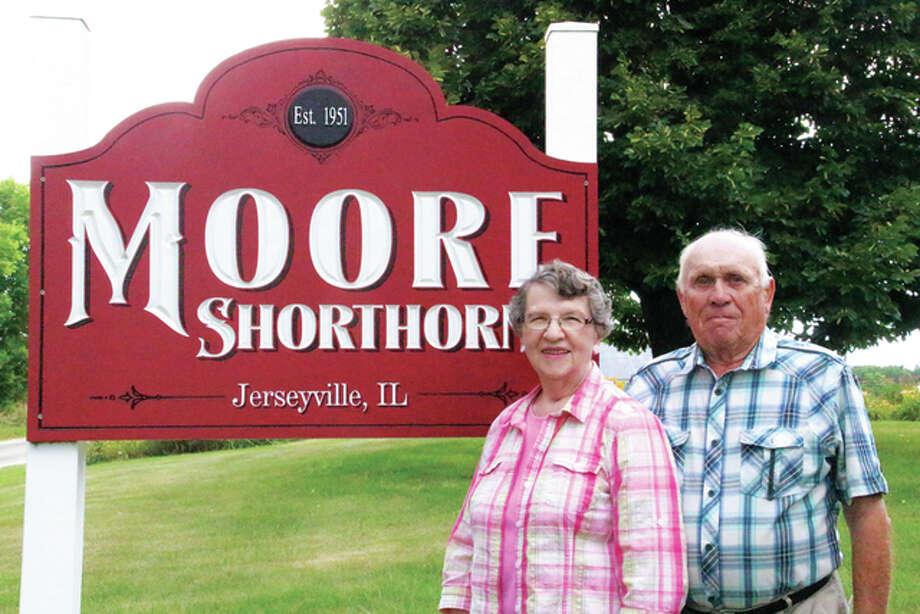 June and Hugh Moore Jr.
