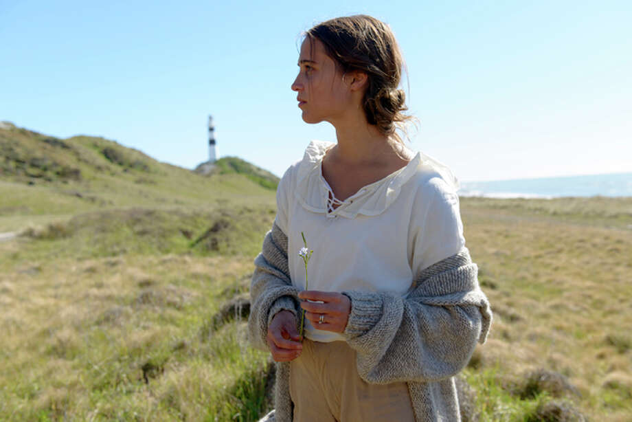 "This image released by Dreamworks II shows Alicia Vikander in a scene from, ""The Light Between Oceans."" Photo: (Davi Russo/Dreamworks II Via AP)"