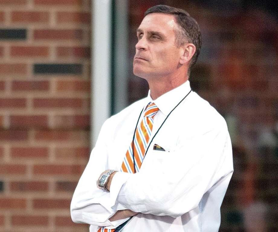 Mike Thomas has been fired as athletic director at the University of Illinois. Former SIU Carbondale athletic director Paul Kowalczyk is the interim Illini AD. Photo: AP