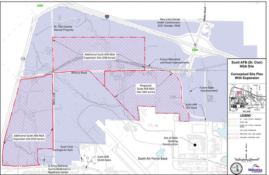 St. Clair County offers 200 more acres by proposed Scott AFB ...