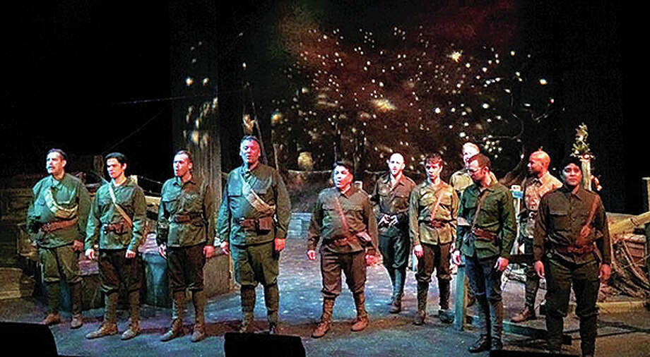 """All is Calm"" cast Photo: Submitted 