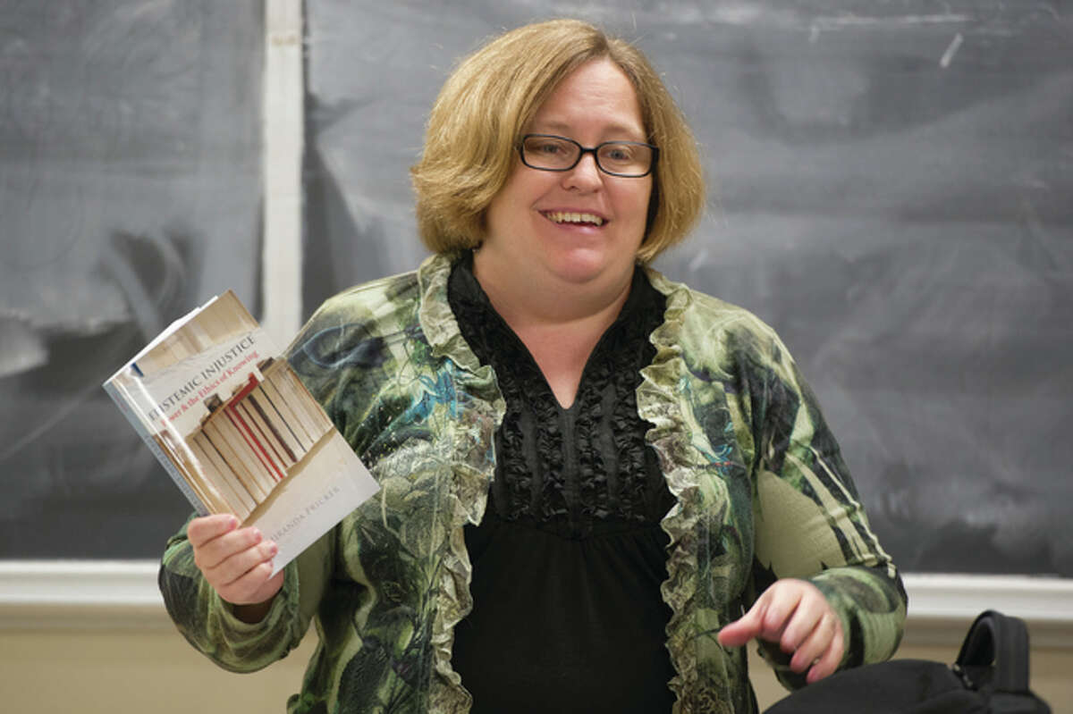 Alison Reiheld, director of the Women's Studies Program at Southern Illinois University Edwardsville, says gender equality is anything but simple.
