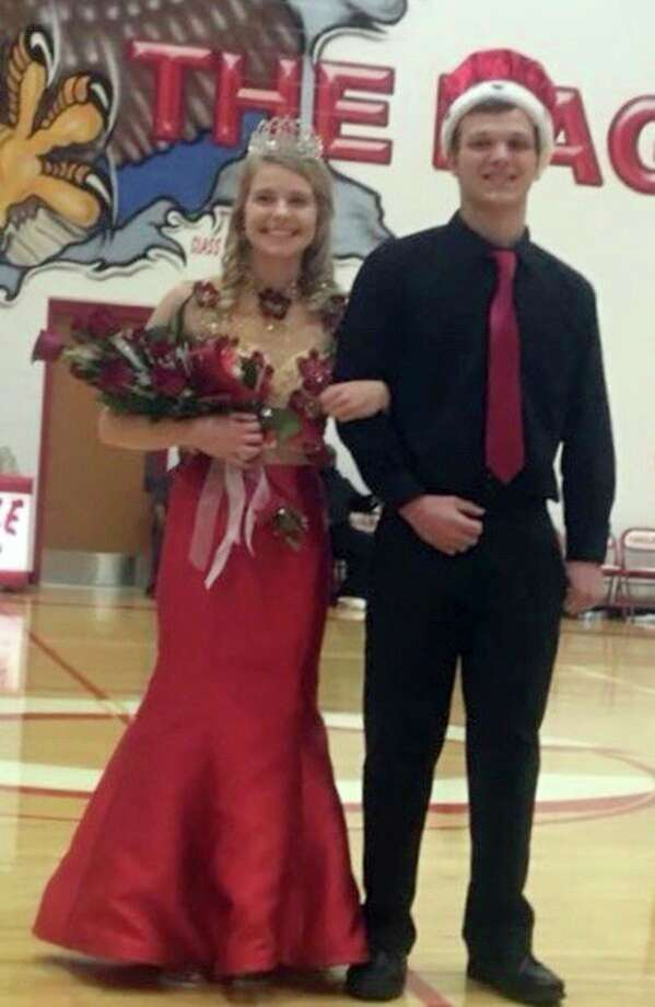 Mitchell Langley and Heidi Ewald were recently crowned Caseville's Coming Home King and Queen. (Submitted Photo)