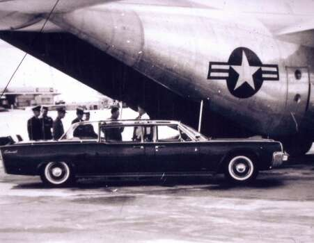 William H. Meyer was part of the military detail that accompanied President John F. Kennedy to South America in December 1961. The limousine Kennedy used on the trip is the same one in which he was assassinated on Nov. 22, 1963, in Dallas. (William H. Meyer)