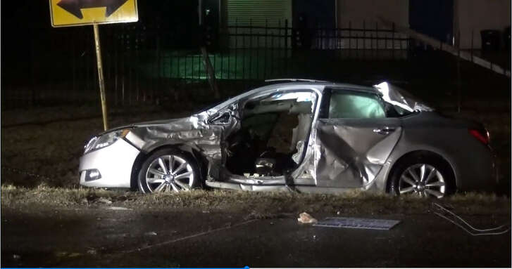 A drunk-driver ran a stop sign Friday night and ended up killing another driver at an intersection in Cypress, according to the Harris County Sheriff's Office.