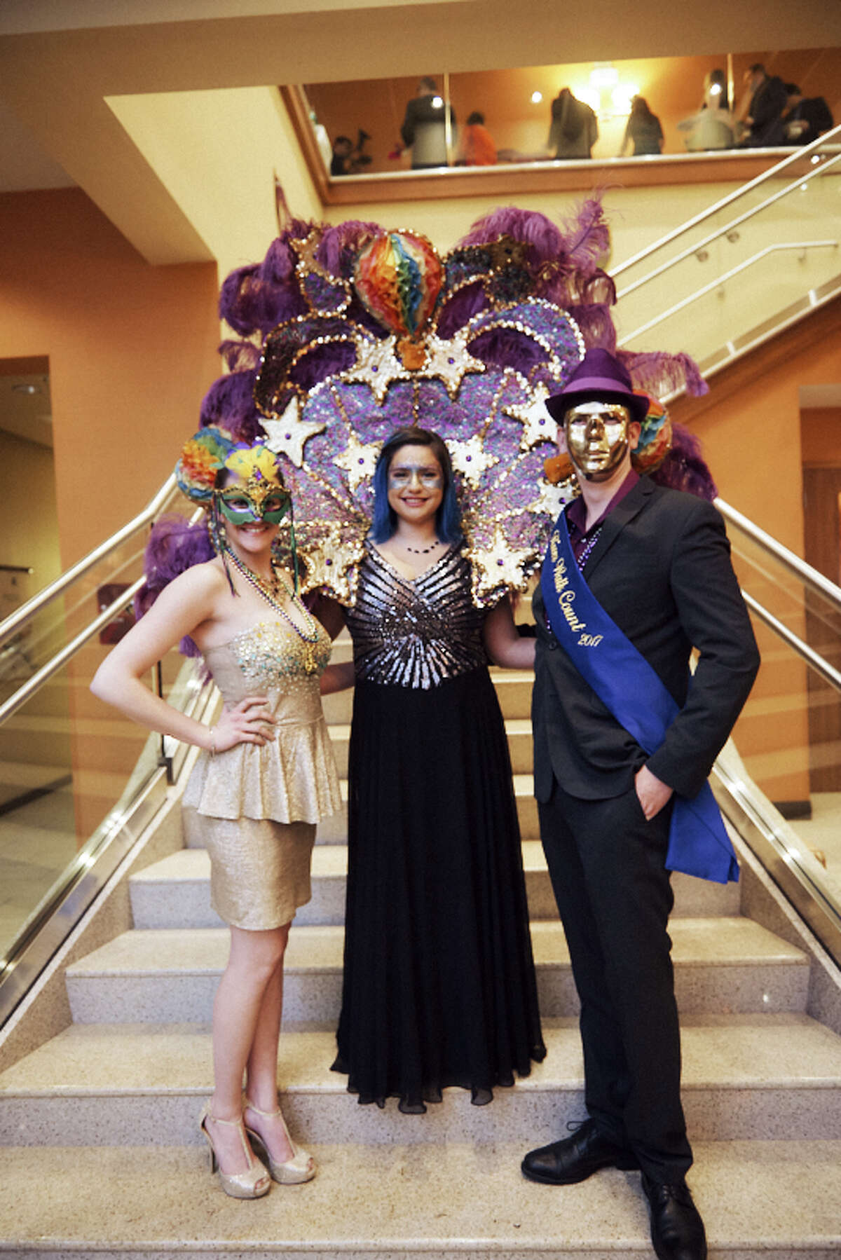 March 1: Royal Masquerade Gala  Hyatt Regency, 7 to 10:30 p.m.