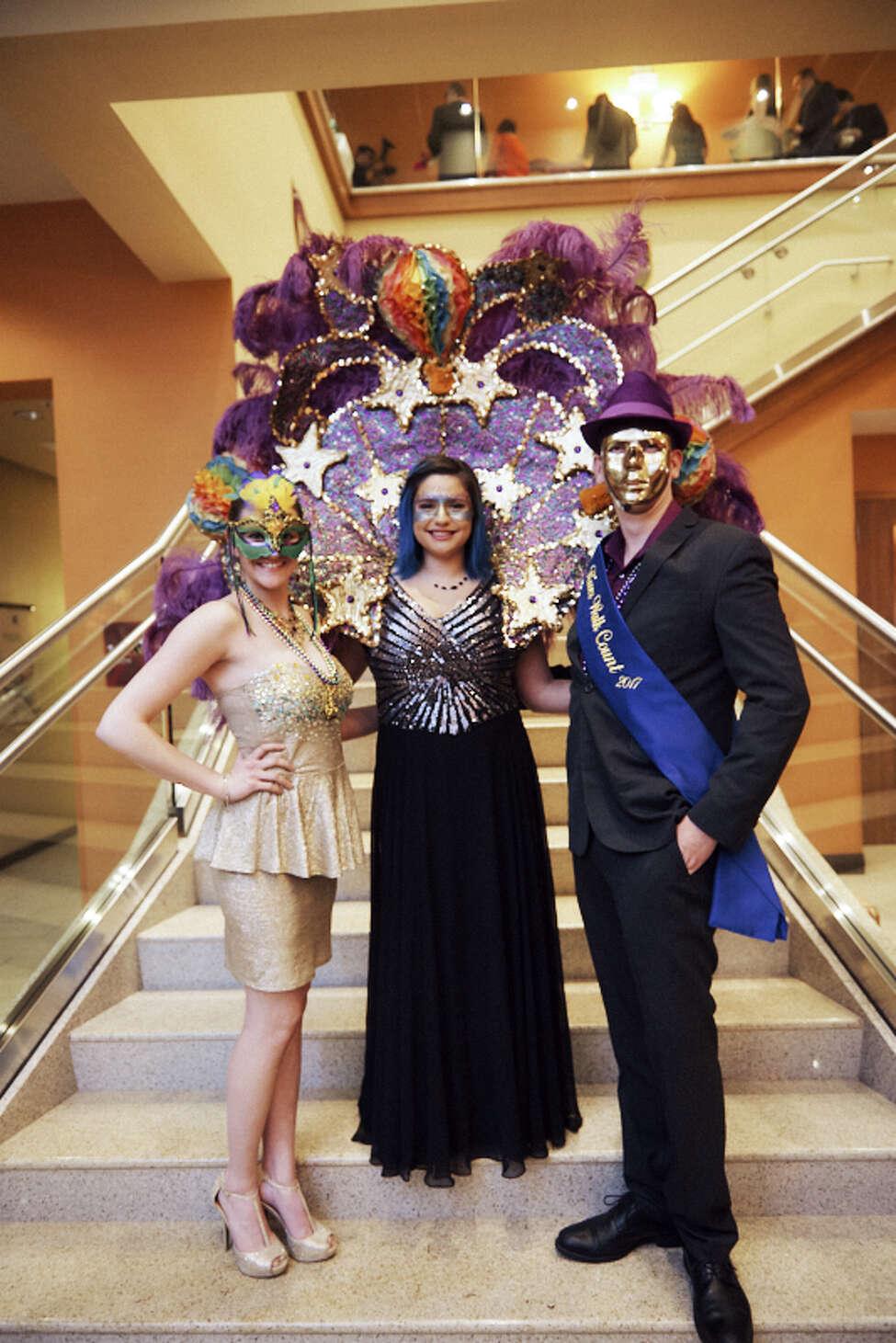 March 1: Royal Masquerade Gala Hyatt Regency, 7 to 10:30 p.m.