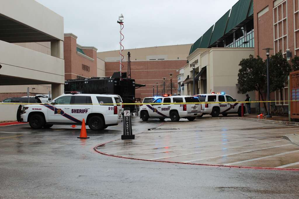A suspicious backpack at the Woodlands Mall prompted the evacuation of two stores on February 10, 2018.