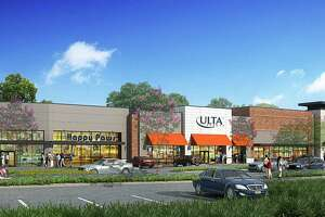 Executives from The Howard Hughes Corporation and its wholly-owned subsidiary, The Woodlands Development Company, recently broke ground on Lake Woodlands Crossing, a new retail center in The Woodlands Town Center, with CDA Architects and Arch-Con Construction. Pictured is a rendering of what the center will look like when completed.