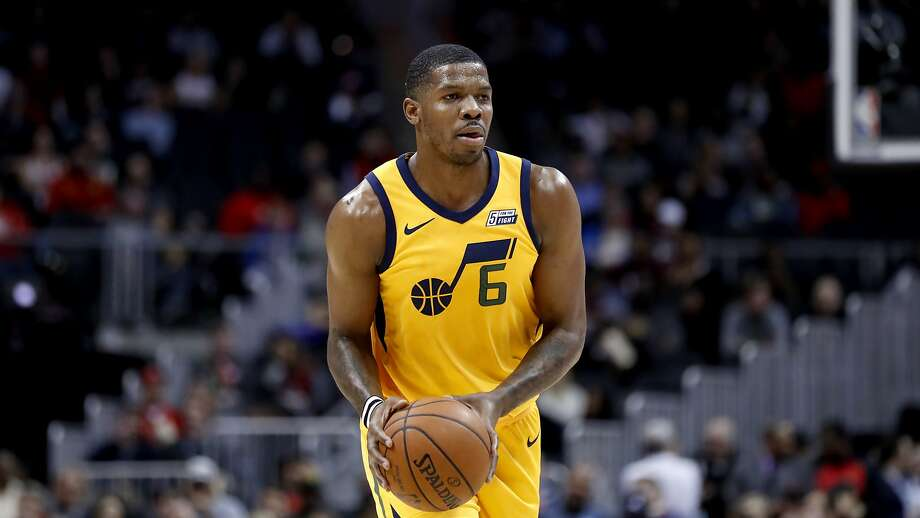 Houston, which has the Western Conference's second-best record, added Utah's Joe Johnson (left) and Sacramento's Brandan Wright after each was bought out by his former team. Photo: David Goldman, Associated Press
