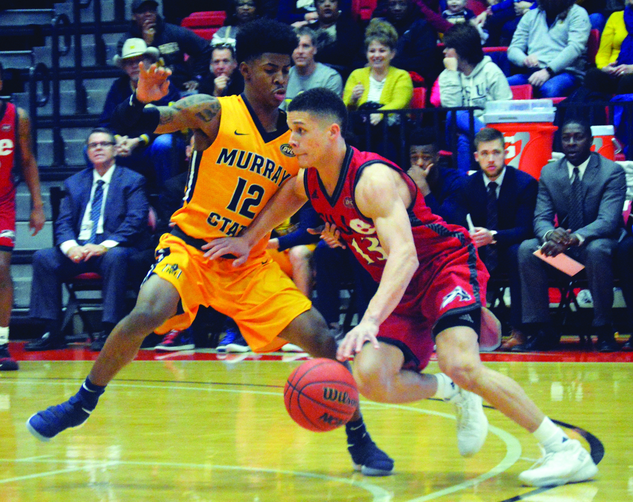 MENS' BASKETBALL: Cougars fall to Racers at home - The ...