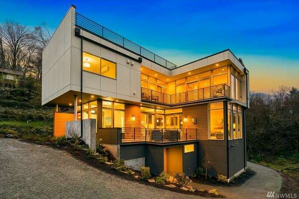 11500 Lakeside Avenue, Northeast, is new construction overlooking Lake Washington, priced at $1.750M