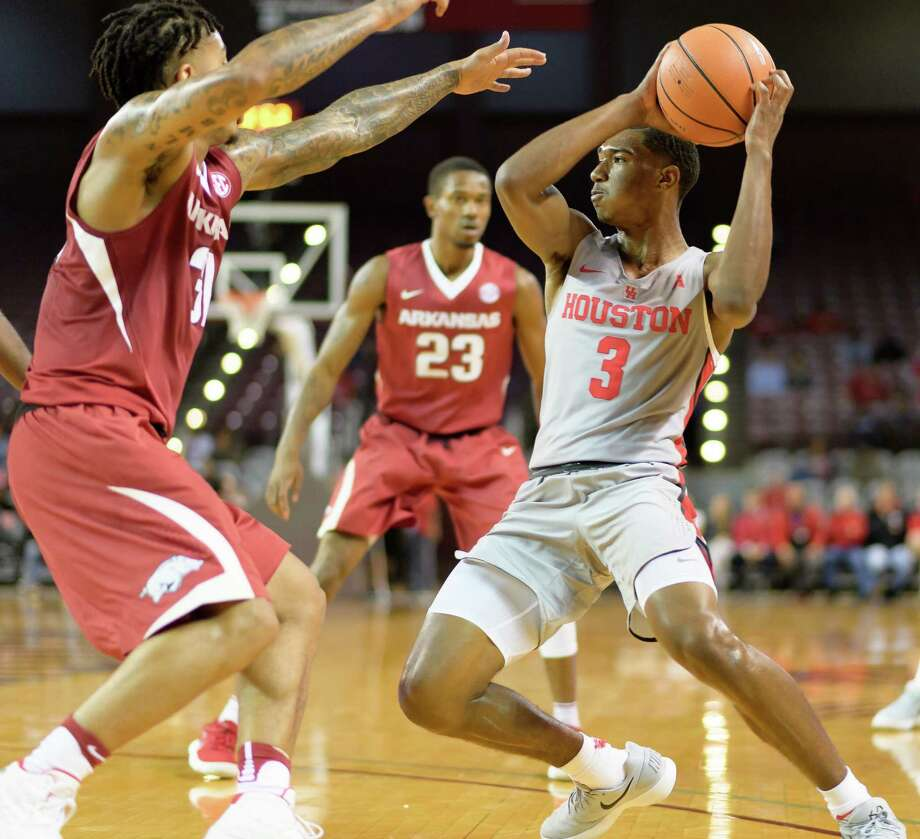 UH showed its depth when guard Armoni Brooks came off the bench Thursday to lead the way against SMU with 23 points and 10 rebounds. Photo: Wilf Thorne / © 2017 Houston Chronicle