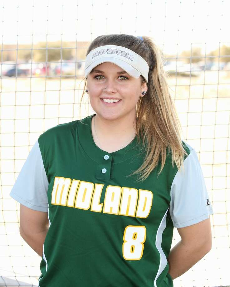 Midland College softball's Elizabeth Chastain.