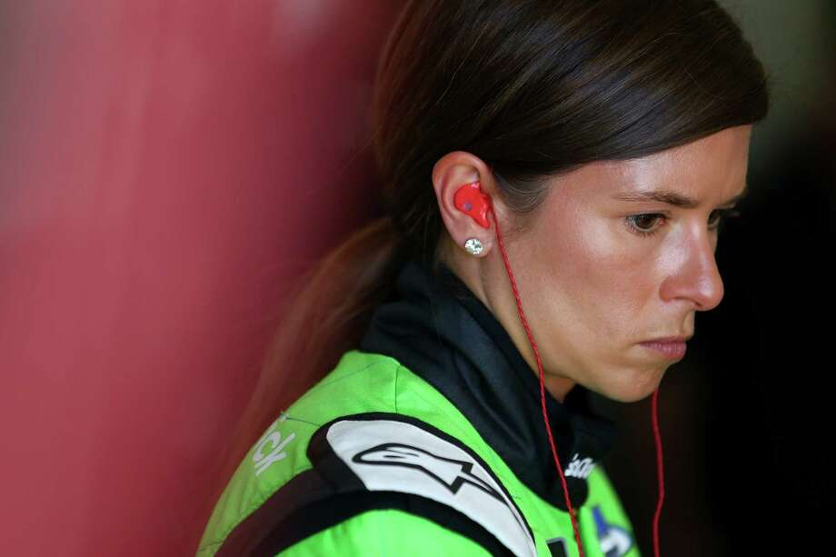 DAYTONA BEACH, FL - FEBRUARY 10:  Danica Patrick, driver of the #7 GoDaddy Chevrolet, stands in the garage during practice for the Monster Energy NASCAR Cup Series Daytona 500 at Daytona International Speedway on February 10, 2018 in Daytona Beach, Florida.  (Photo by Sarah Crabill/Getty Images) Photo: Sarah Crabill / 2018 Getty Images