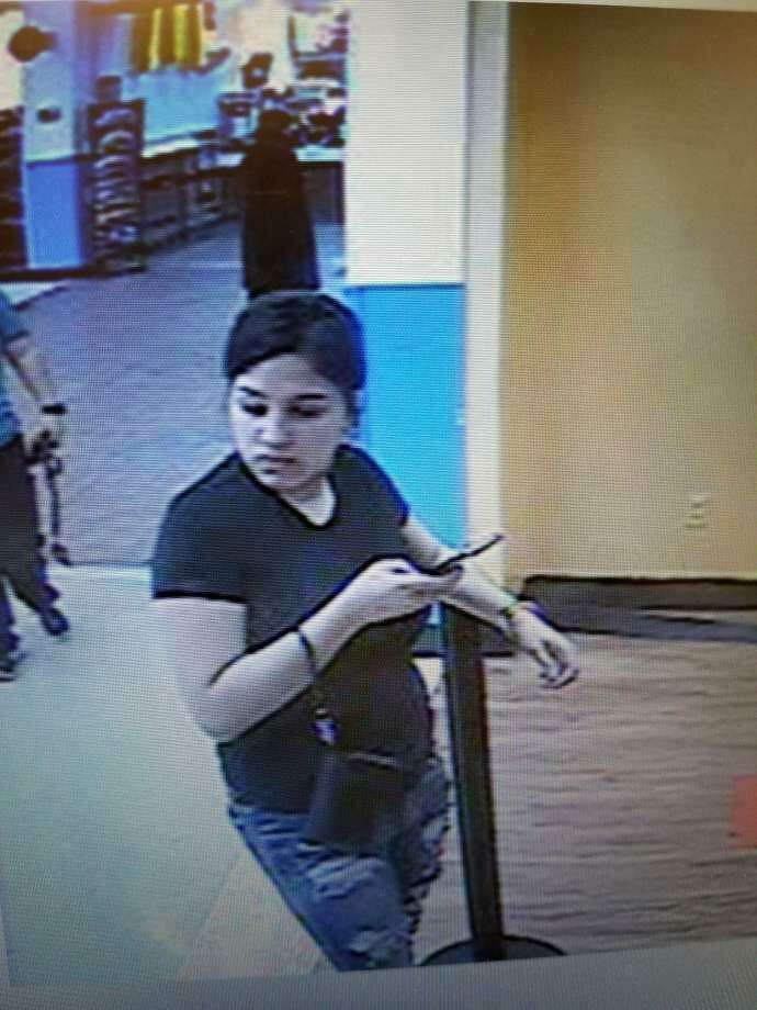 This image taken from surveillance video shows Brittany Peña, who was last seen in Laredo. Photo: Courtesy