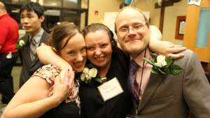 Were you Seen at Night to Shine, a prom night experience for Capital Region residents living with special needs, at Our Saviors Lutheran Church in Albany on Feb. 9, 2018?