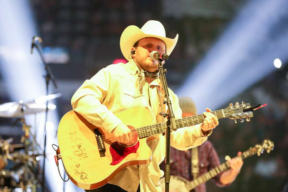 "The Josh Abbott Band is seen here playing at the San Antonio Stock Show & Rodeo on Saturday, Feb. 10, 2018. The Josh Abbott Band has been enlisted to sing ""Deep in the Heart of Texas"" for the beer company's 2018 campaign in Texas. Scroll ahead to see some of the best names for craft beer in Texas up ahead.  Photo: Marco Garza For MySA"