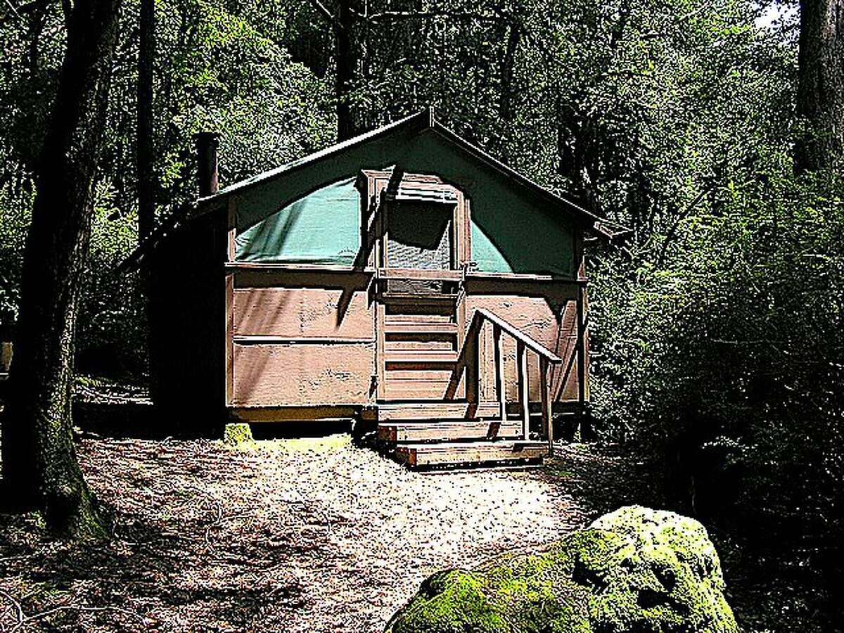 Big Basin Tent Cabins: A cool night and a warm cabin in the redwoods can transform your world overnight into a life of freedom, leisure and play