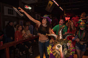 Wild West packed them in Saturday Feb. 10, 2018, night was the dance club threw a Mardi Gras parade and party for a crowd eager for fun and dancing.