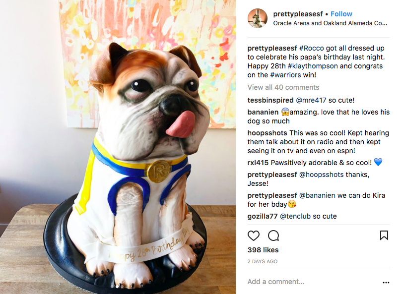 Dog Birthday Cake Sf